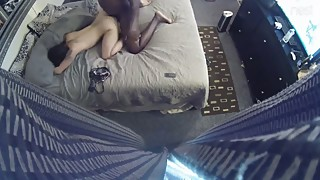 Spy cam catches white wife cheating on husband with a BBC