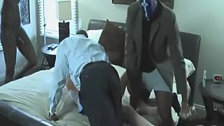 Married Wife Fucked Hard By Three Black Bulls