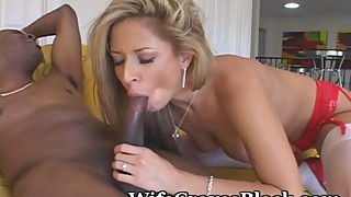 Sexy Wife Feels The Black Love