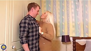 British mom fuck lucky son mypicss.com