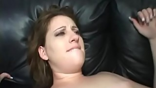 Chubby Wife Takes BBC On Couch