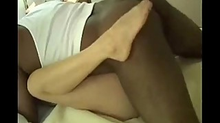 Sexy swinger wife loves big black cock and creampie