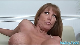 Real milf fucked hard in cuckold action
