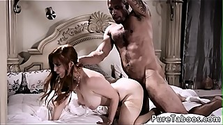 Busty taboo babe fucked by bbc in cuckold
