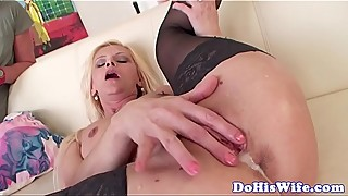 Cuckolding housewife creampied by bbc