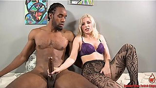 Big Black Cock Fucks My Slutty Mouth!