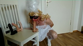 BBC hypno to turn little white cuckold sissy faggots into bimbo fuck sluts