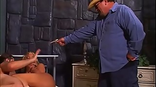 Sheriff&#039_s big tits wife got caught right after hard ass to mouth action