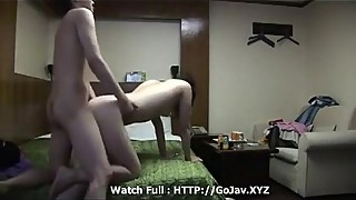 Korean couple home sex - Watch Full: http://jpbabe.com