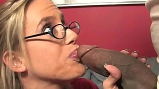 Big Tit Mom Sucks Big Black Dick