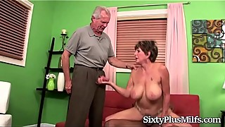 Mature Slut Fucked by a Black Guy