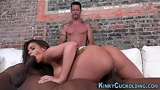 Cuckolding domina creamed