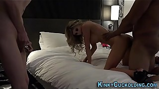 Cuckolder drilled by bbc