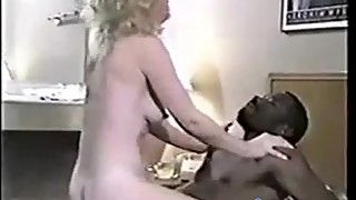 Retro cuckold wife with two BBCs CuckoldBang.com