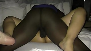 Horny Latina Wife Getting Some BBC Part 1
