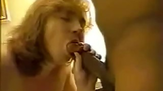 Mature Wife First Time with BBC Suck Fuck and Cum