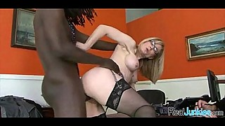 Watching mom fuck a black guy 357