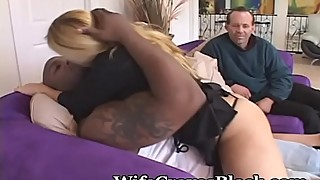Bigger Girl Wants Black And She Gets It Hard
