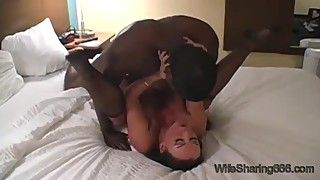 Shared Hot Busty Wife for Hardcore Fuck and Cum in Pussy with BBC