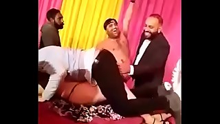 Punjabi wife dancing nude in gang of hubbys friend