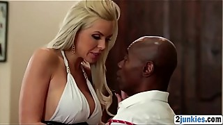 Blonde MILF Nina Elle gets banged by BBC in cuckold actionp