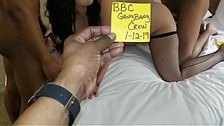 HOT WIFE MADE OUR BBC GANGBANG CREW CUM IN HER! MILF 4K Fortnite Tinder Outdoor Tattoos