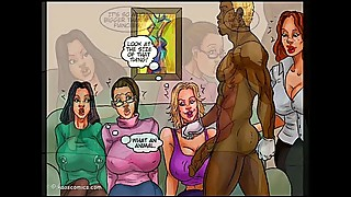 Housewives Crave BBC (Interracial Comics Compilation)
