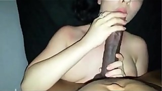 CC let&rsquo_s her Beautiful White Slut friend get some of that Monster Black Dick.