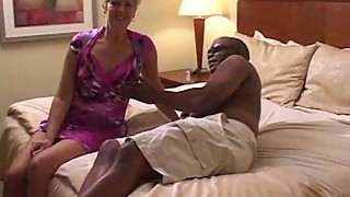 Swinger wife creampied by black man in hotel