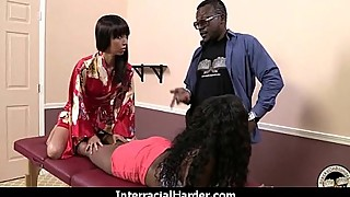 Swinger wife gets fucked by black bull 23