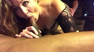 Interracial FMM with my wife Paula