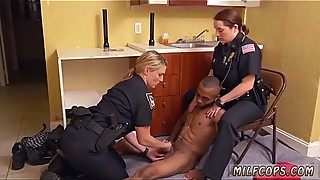 Milf interracial cuckold Black Male squatting in home gets our mummy