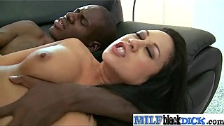 Monster Black Cock Fill Wet Pussy Of Horny Milf  vid-12