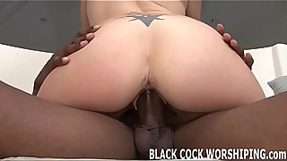 Nothing gets me wetter than a big black cock