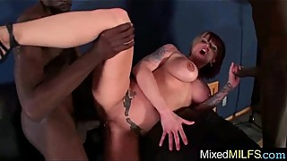 Big Black Cock Fill Wet Hot Holes Of Mature Lady (monroe valentino) mov-23