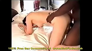 Husband Filming Older Wife Fucking Black Lovers Huge Penis